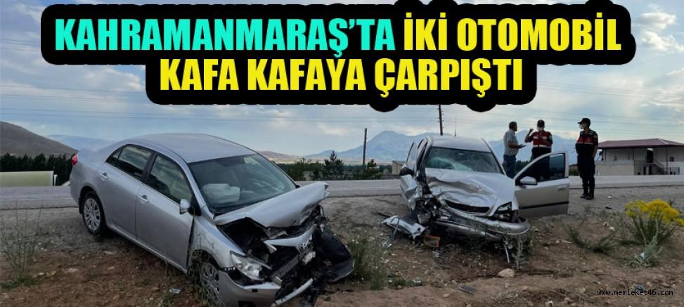 KAHRAMANMARAŞ'TA FECİ KAZA