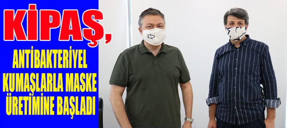 KAHRAMANMARAŞ'TA KORONAYA KARŞI ÖZEL MASKE