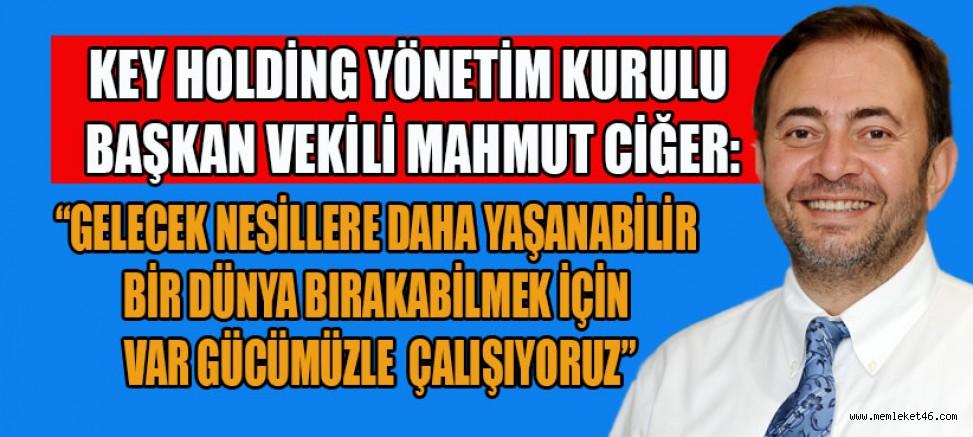 """KEY HOLDİNG BÜNYESİNDE BULUNAN, KAHRAMANMARAŞ KAĞIT SANAYİ  """"SIFIR ATIK"""" BELGESİNİ ALDI"""